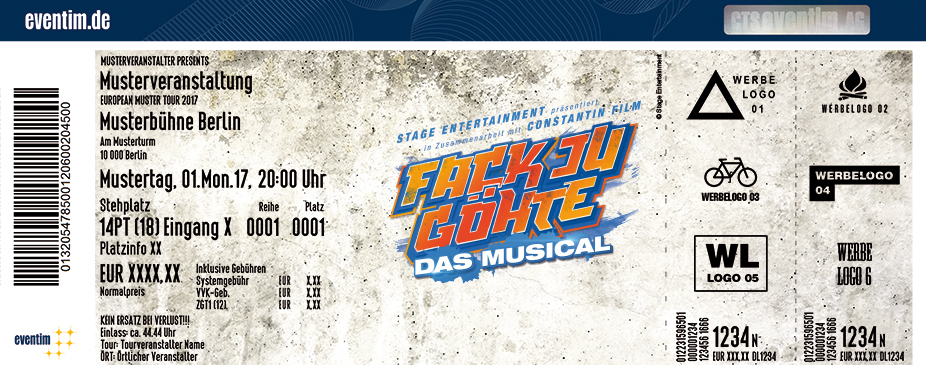 FACK JU GÖHTE - Das Musical in München