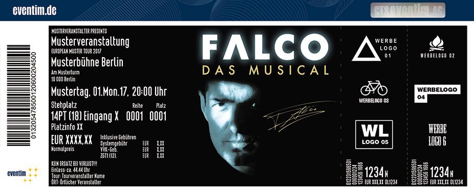 Karten für Falco - Das Musical 2018 in Bregenz