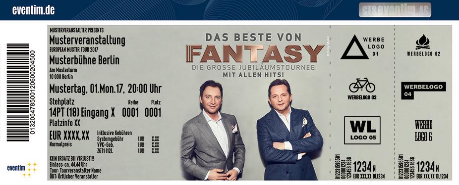 Karten für Fantasy: Das Beste von Fantasy - Die große Jubiläumstournee – Mit allen Hits! in Hamburg