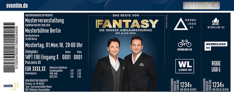Karten für Fantasy: Das Beste von Fantasy - Die große Jubiläumstournee – Mit allen Hits! in Magdeburg
