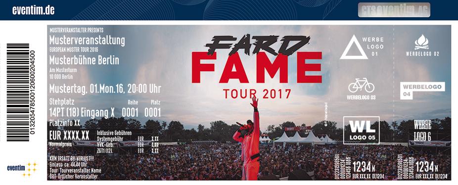 Fard Karten für ihre Events 2017