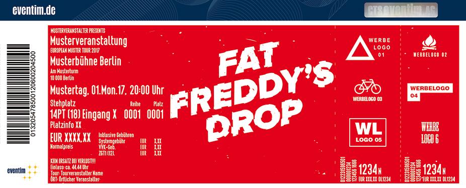 Fat Freddy's Drop Karten für ihre Events 2018