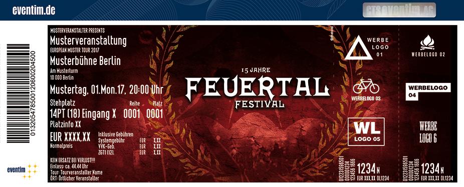 Feuertal Festival Karten für ihre Events 2018