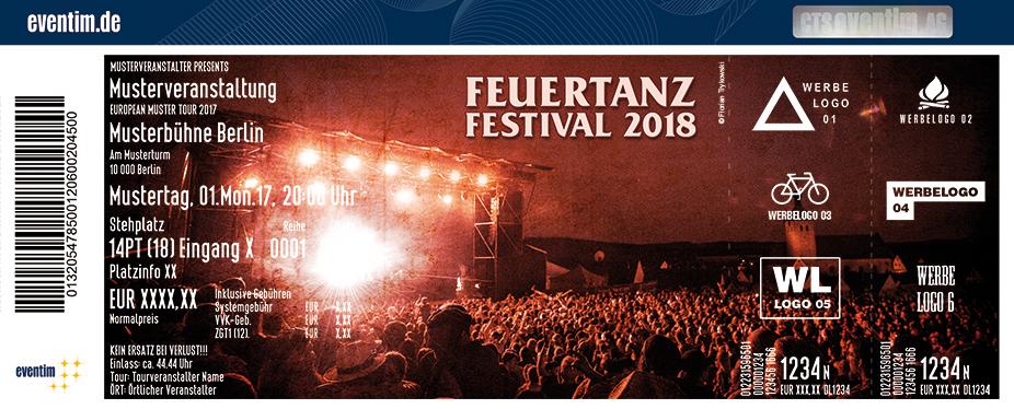 Feuertanz Festival Karten für ihre Events 2018