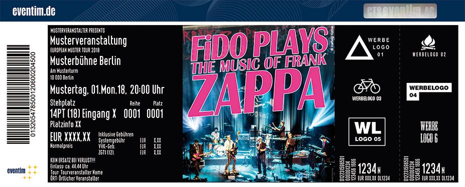 Karten für FiDOplaysZAPPA in Bremen