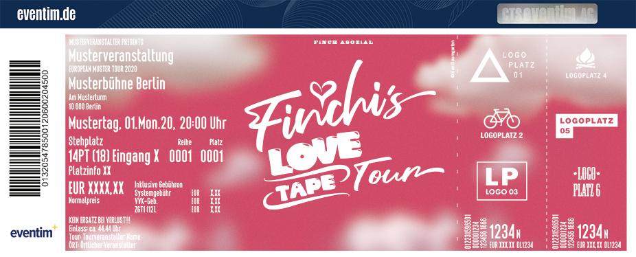 Finch Asozial - Finchi's Lovetape Tour 2021