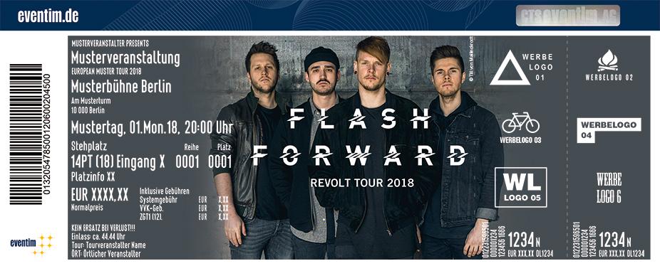 Flash Forward Karten für ihre Events 2018