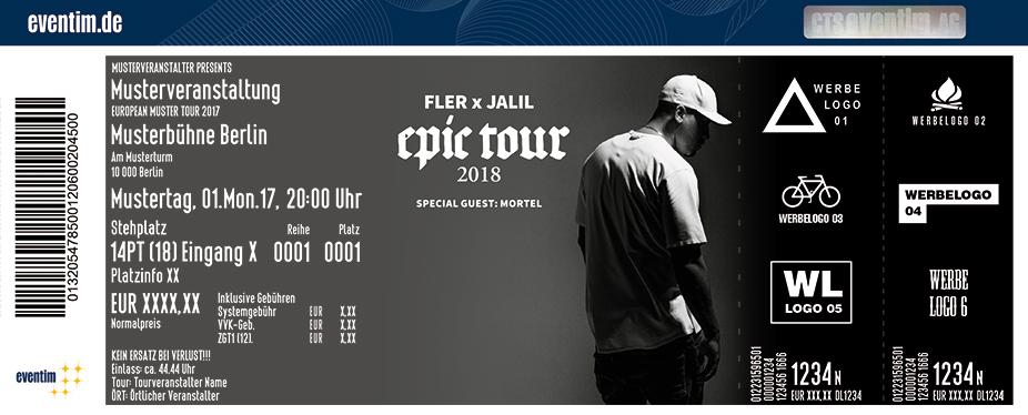 Karten für FLER x JALIL: Epic Tour in Frankfurt