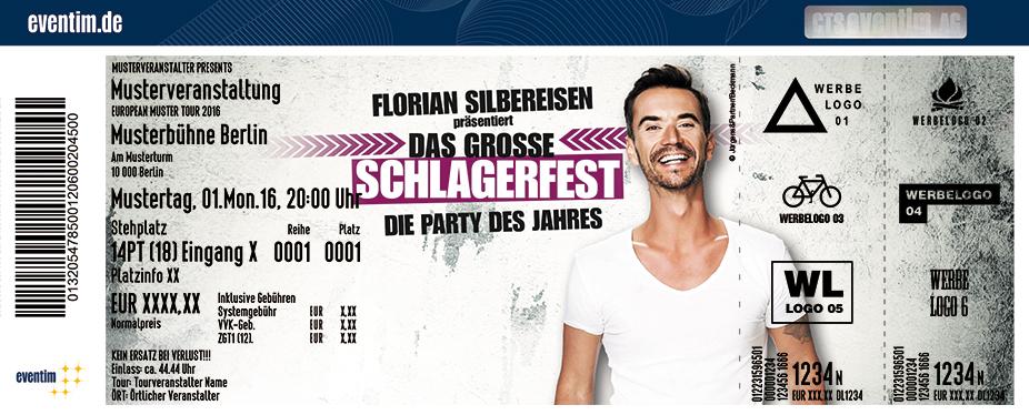 Florian Silbereisen Karten für ihre Events 2017
