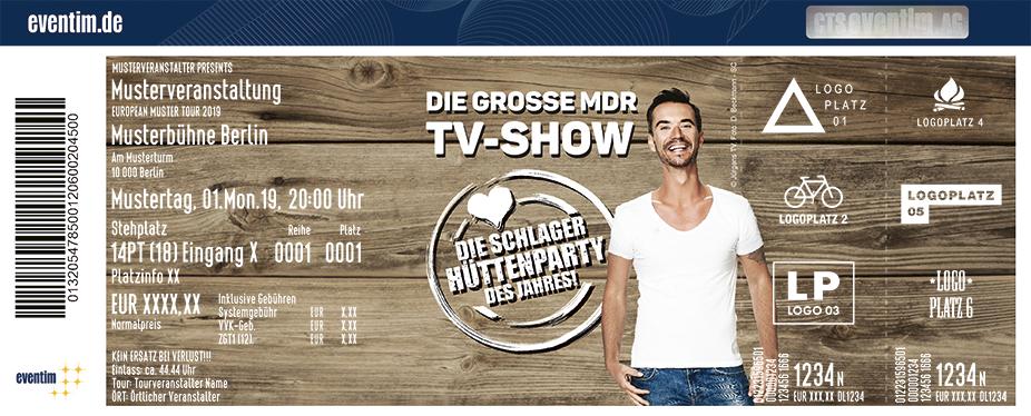 Florian Silbereisen präsentiert: Die Schlager-Hüttenparty des Jahres - MDR TV-Aufzeichnung - 2020