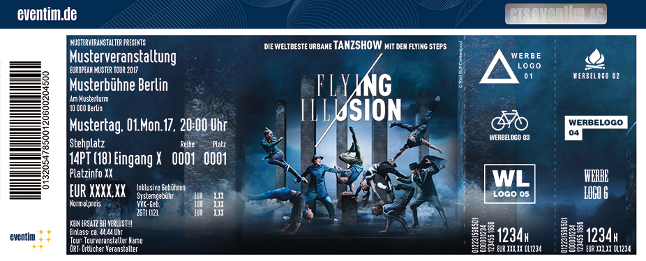 Karten für Flying Illusion in Berlin