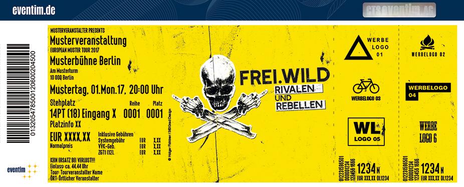 Karten für Frei.Wild: Rivalen und Rebellen - Tour 2018 in Hamburg