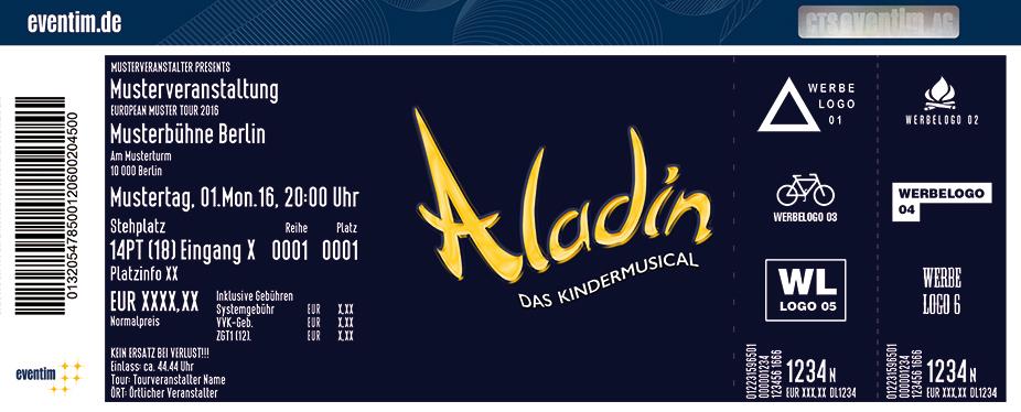 Karten für Aladin | Freilichtspiele Tecklenburg 2017 in Tecklenburg