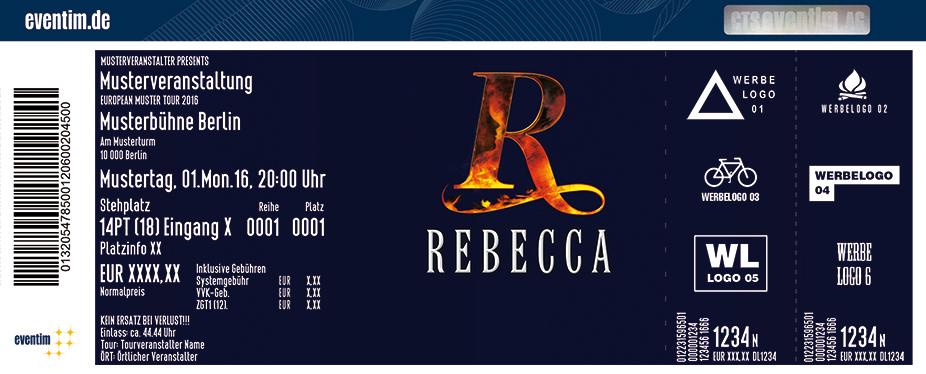 Karten für Rebecca | Freilichtspiele Tecklenburg 2017 in Tecklenburg