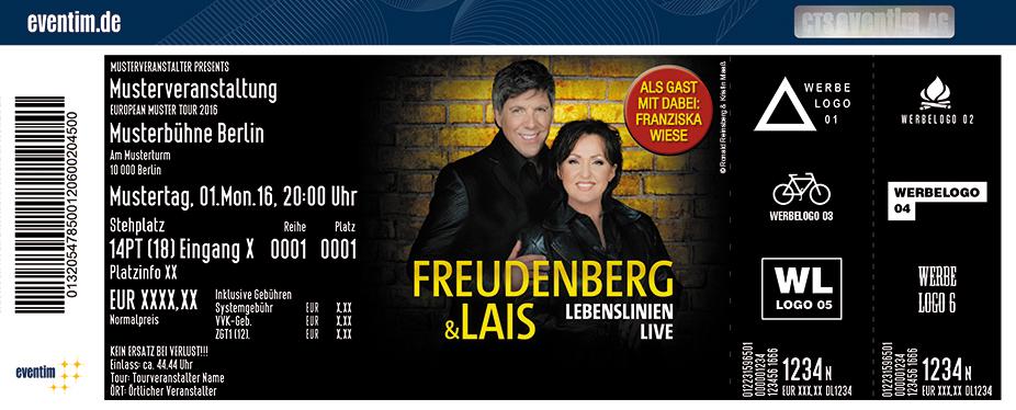 Ute Freudenberg Karten für ihre Events 2017