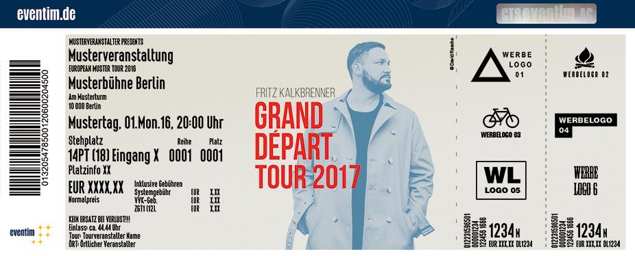 Fritz Kalkbrenner Karten für ihre Events 2017