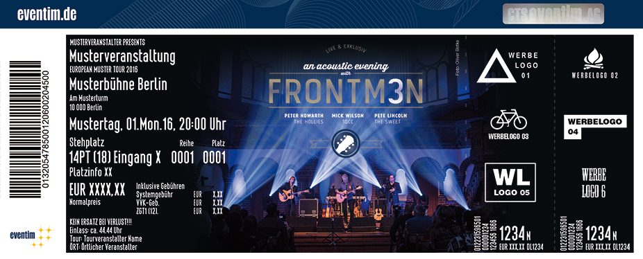 Karten für Frontm3n - An Exclusive Acoustic Night in Butzbach