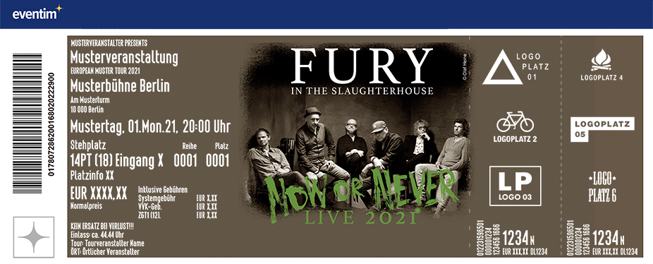 Fury In The Slaughterhouse - Now or Never 2021