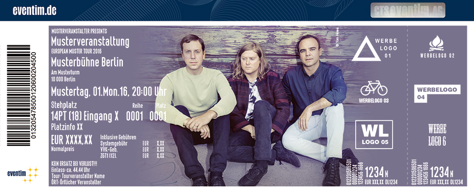 Future Islands Karten für ihre Events 2017