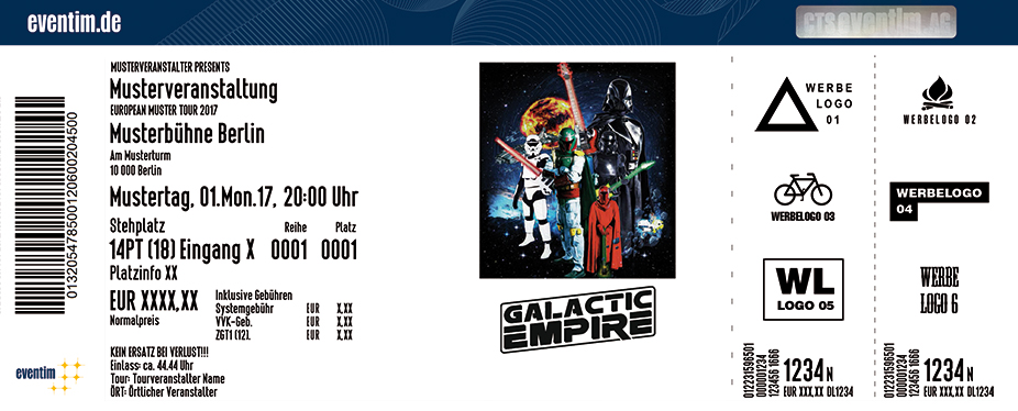 Karten für Galactic Empire in Wien