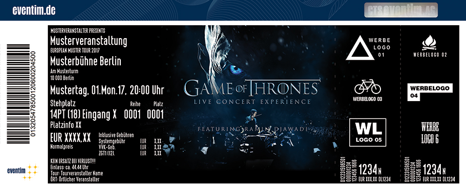 Karten für Game of Thrones - Live Concert Experience feat. Ramin Djawadi in Hamburg