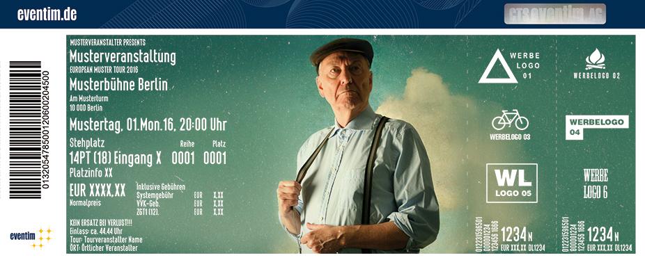 Gerd Dudenhöffer Karten für ihre Events 2017