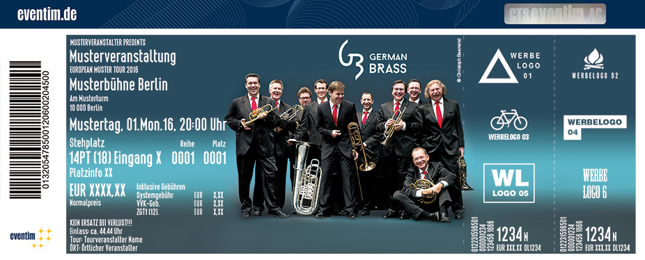 Karten für German Brass in Berlin
