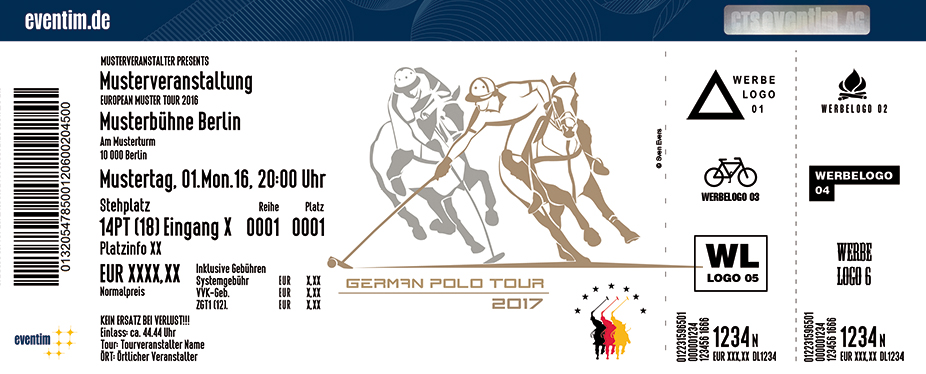 German Polo Tour Karten für ihre Events 2017
