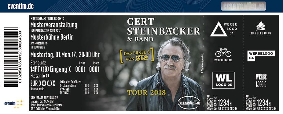 Gert Steinbäcker Karten für ihre Events 2018