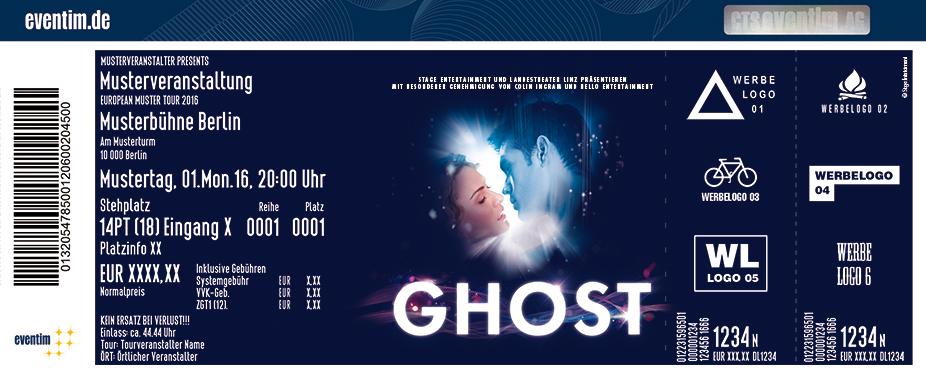 Karten für GHOST - Das Musical in Berlin in Berlin