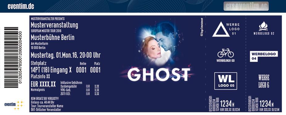Ghost - Das Musical Karten für ihre Events 2017