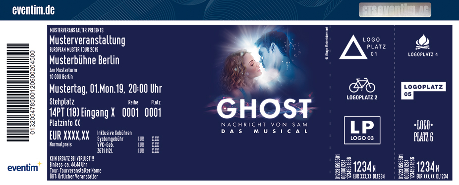 Ghost - Das Musical in Stuttgart
