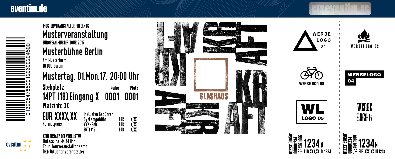 Karten für Glashaus - Kraft live & akustisch in Hamburg