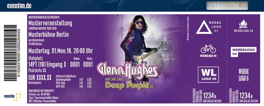 Glenn Hughes Karten für ihre Events 2018