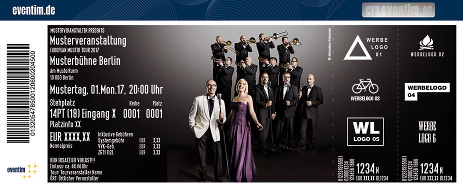 Karten für Glenn Miller Orchestra directed by Wil Salden - Live 2018 in Innsbruck