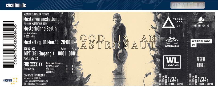 God Is An Astronaut Karten für ihre Events 2018