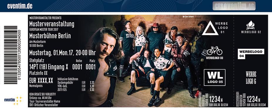 Karten für Gogol Bordello in München