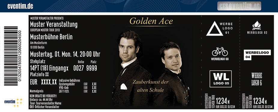 Karten für Golden Ace in Hamburg