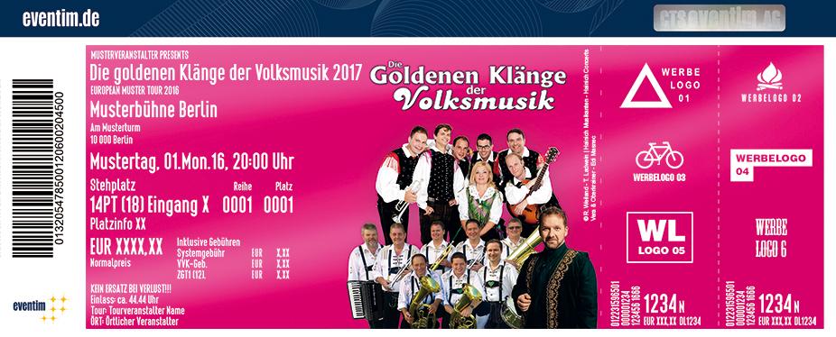 Karten für Die goldenen Klänge der Volksmusik in Neubrandenburg in Neubrandenburg