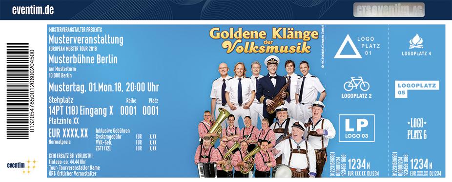 489960f207a5e Tickets für Die Goldenen Klänge der Volksmusik in HÜNFELD am 06.10 ...