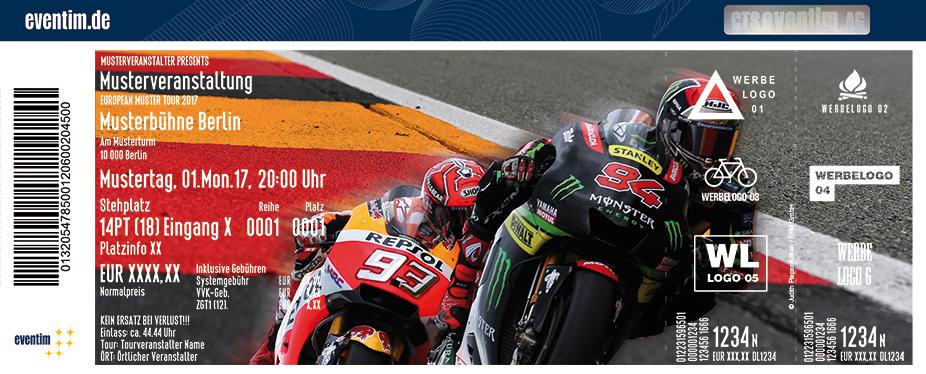 Gopro Motorrad Grand Prix Deutschland Karten für ihre Events 2018