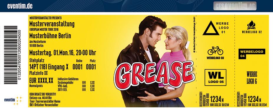Karten für Grease - Das Musical in Hannover