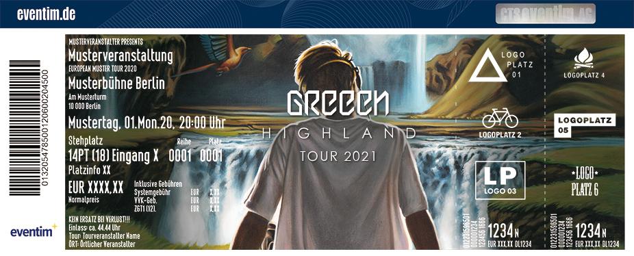 GReeeN - Highland Tour 2021