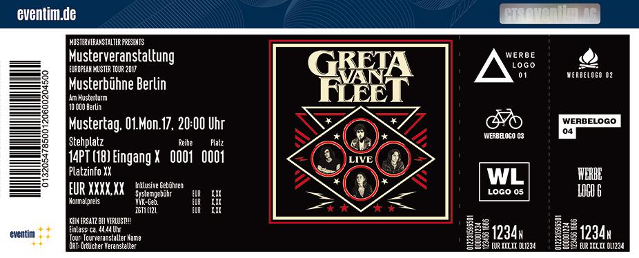 Greta Van Fleet Karten für ihre Events 2018