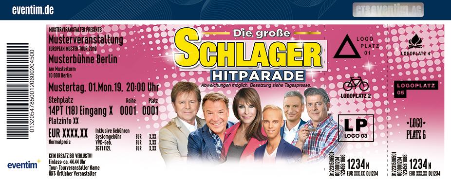 Die große Schlager Hitparade - das Original - 19/20