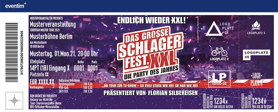 Freundschafts-Ticket | Das GROSSE SCHLAGERFEST.XXL - Die Party des Jahres 2022