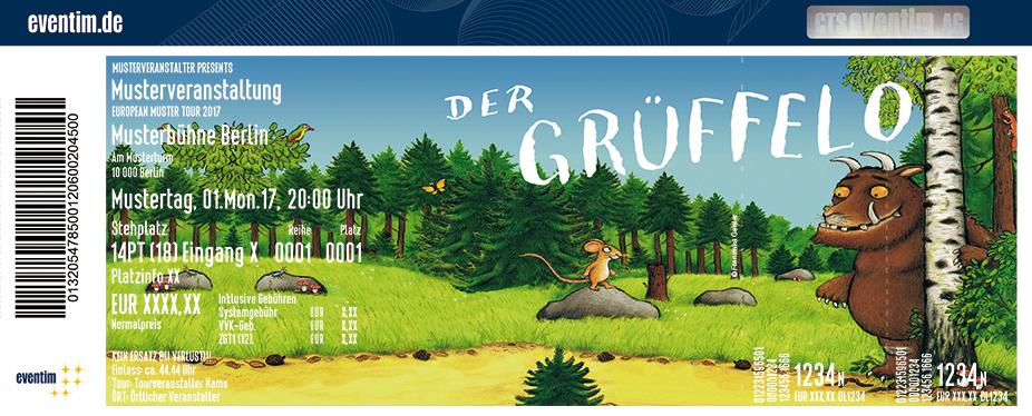 Karten für Der Grüffelo - Theaterzelt Kleine Moorweide Hamburg in Hamburg