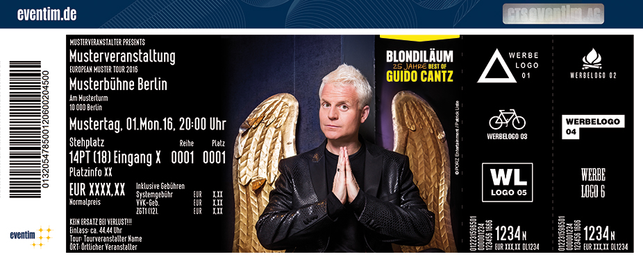 Karten für Guido Cantz: Blondiläum - 25 Jahre Best of Guido Cantz in Euskirchen