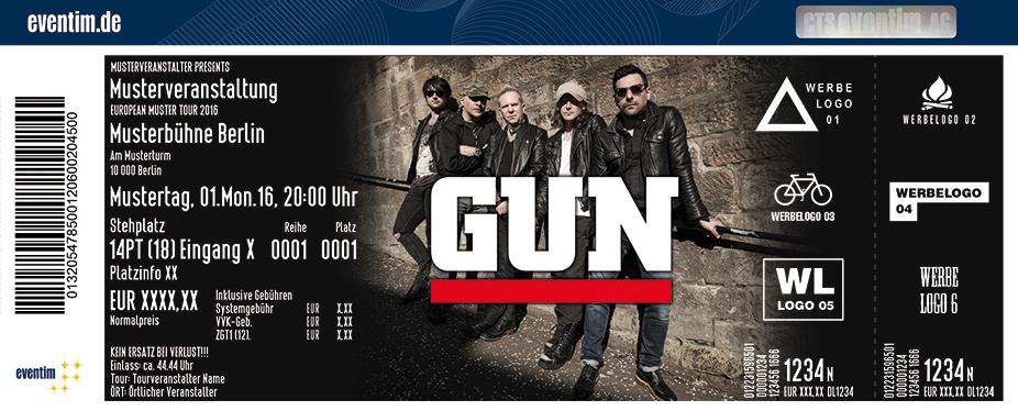 Gun Karten für ihre Events 2017