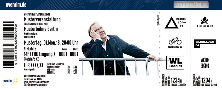 Gustav Peter Wöhler Band Karten für ihre Events 2018
